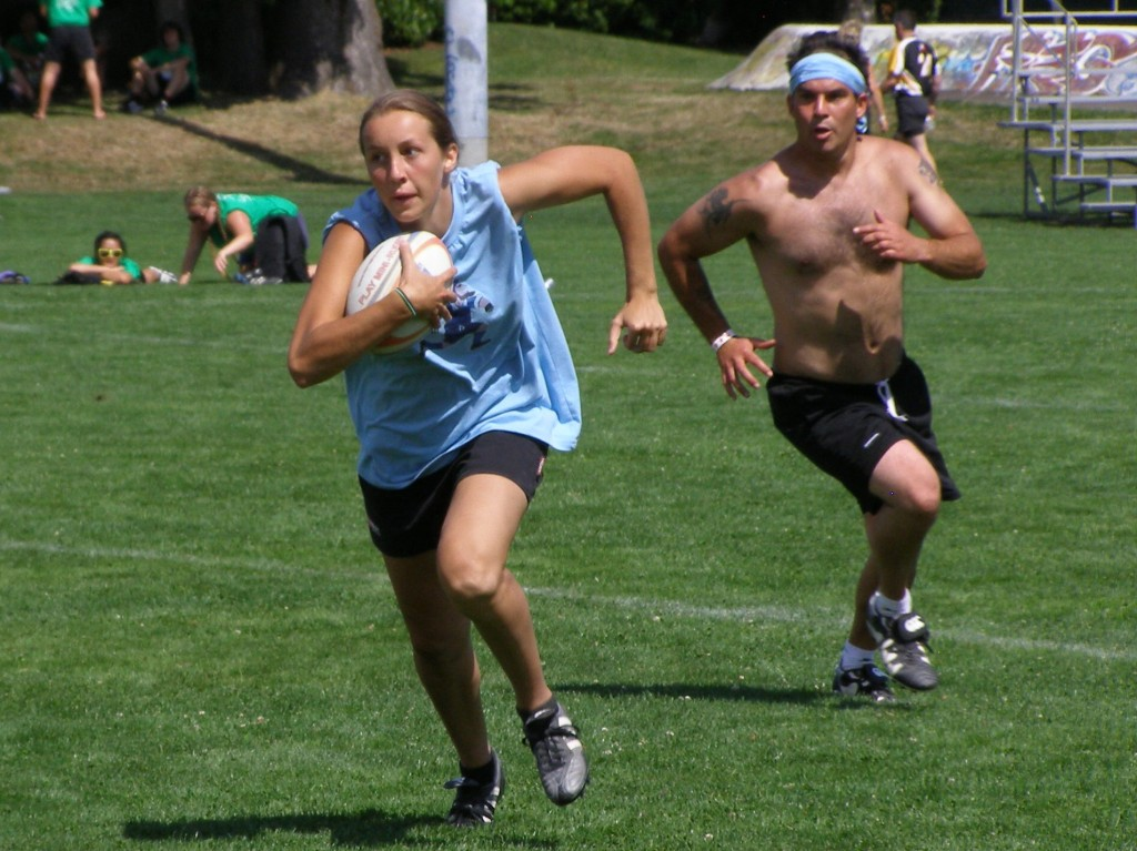 Touch Rugby - fun for all!
