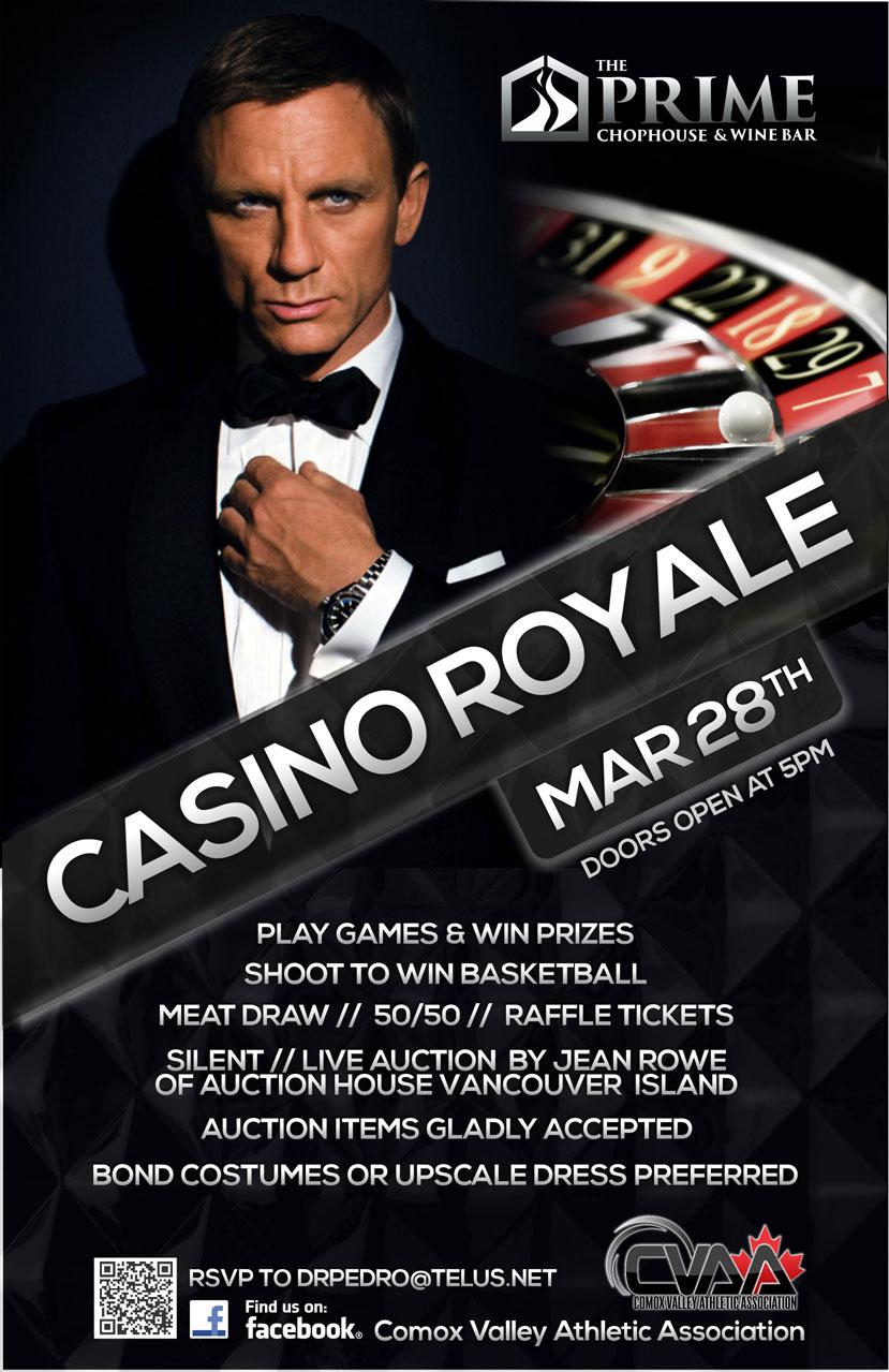 Casino Royale @ Prime Chophouse (March 28)