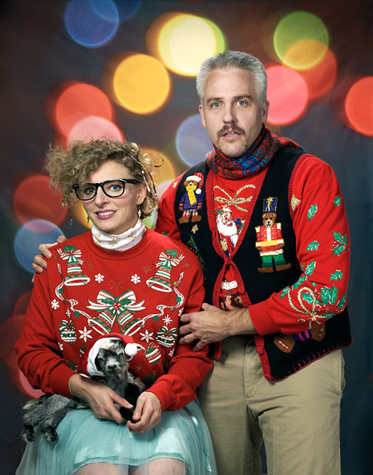 KICKERS TACKY SWEATER PARTY