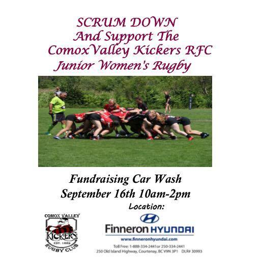Fundraising Car Wash September 16th 10am-2pm